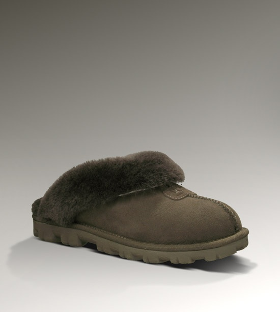 UGG Coquette Womens Chocolate Slippers!