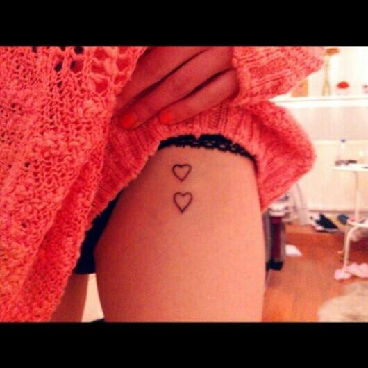 Two hearts Tattoo