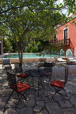 Pool at the Hacienda Santa Rosa