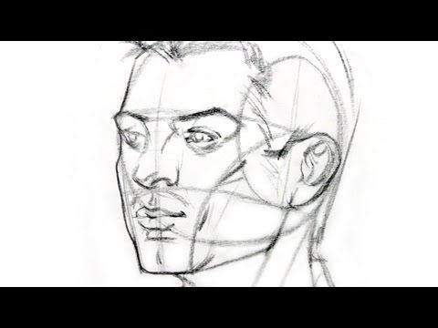 How to Draw the Head from Any Angle. Andrew Loomis approach to drawing the head. Great method for drawing the head from various angles.