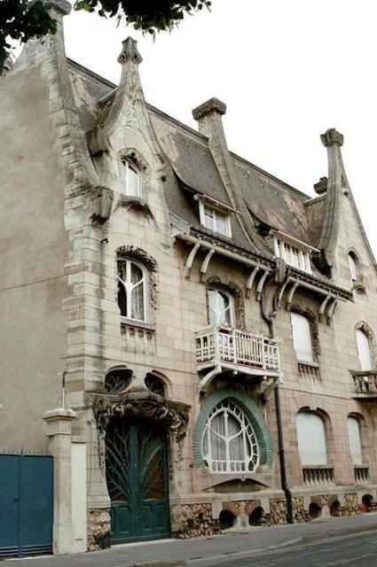 Art Nouveau ~ Nancy, France                                                                                                                                                                                 Plus
