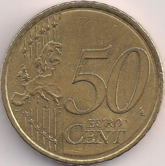 Wertseite: Münze-Europa-Südeuropa-Spanien-Euro-0.50-2007-2009