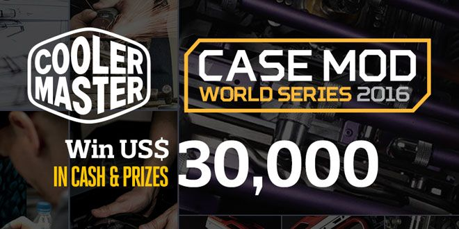 Cooler Master Case Mod World Series – Are you game?