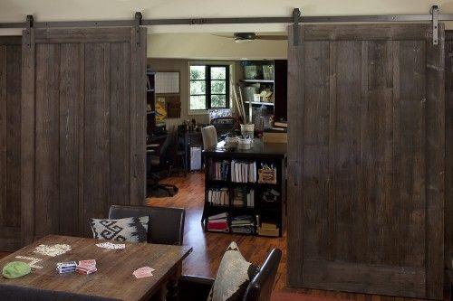 eeek, another variation of the sliding barn door!