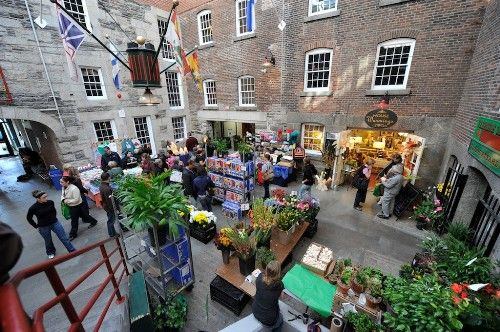 The Old Halifax Market at Brewery Market. Photo: Nova Scotia Tourism, Culture and Heritage.