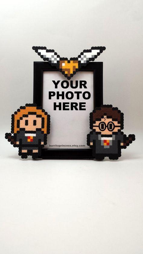 Harry Potter Couples cadre photo – Ginny et Harry image – Ginny et Harry – cadeau de mariage ringard – mariage de Harry Potter