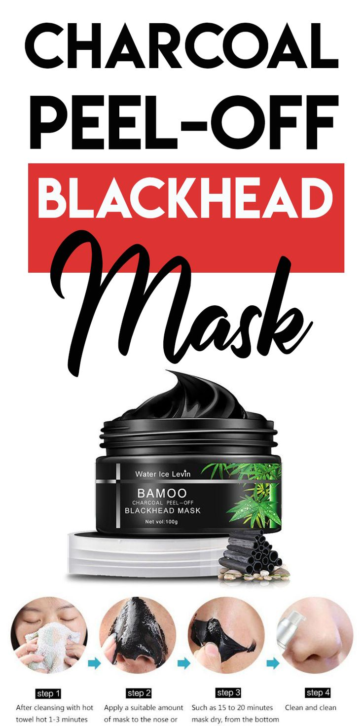 BLACKHEAD CHARCOAL MASK