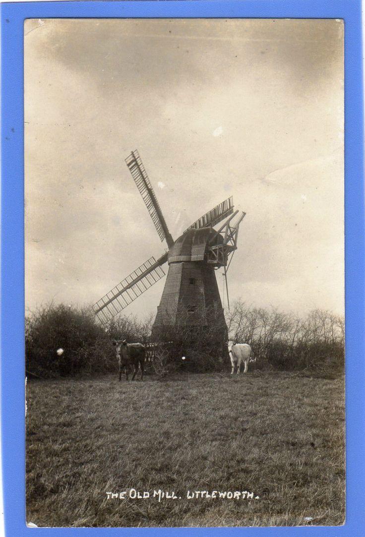 OLD VINTAGE 1928 RP POSTCARD THE OLD MILL LITTLEWORTH HORSHAM SUSSEX   eBay