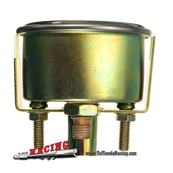 Dial Marcador Medidor Presión de Aceite para Coche 2'' 52mm 0-80PSI 12V Tipo Tuning Racing Coche - 9,3€ - TUTIENDARACING - ENVÍO GRATUITO EN TODAS TUS COMPRAS