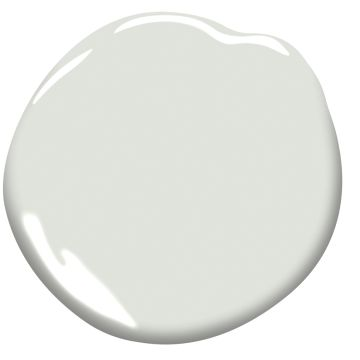Horizon from Benjamin Moore, is a faint grey that's perfect for bright rooms. It has just enough warmth to be inviting, but isn't so warm that it looks beige.