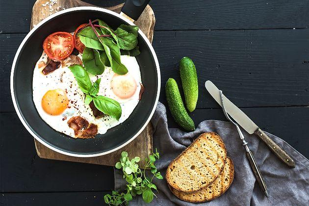 Идеальная яичница: рецепт от шеф-повара Гордона Рамзи