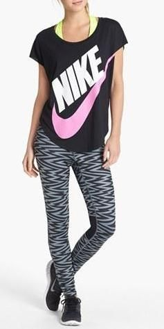 Kick start your New Year's resolution - Vented leggings and a flattering tee