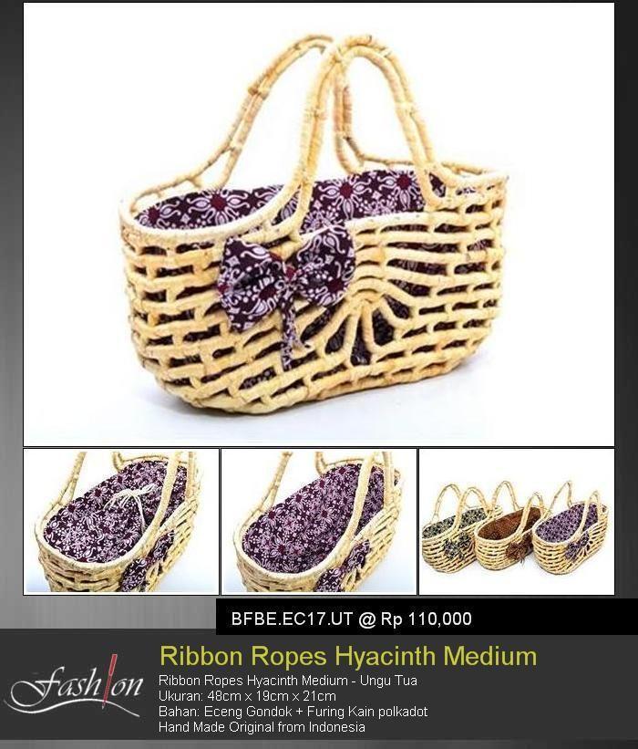 Ribbon Ropes Hyacinth Medium Purple