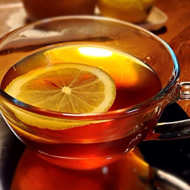 紅茶やお酒に入れて飲んでます♡ - 89件のもぐもぐ - はちみつ生姜レモンティー☕️ by satohayaami