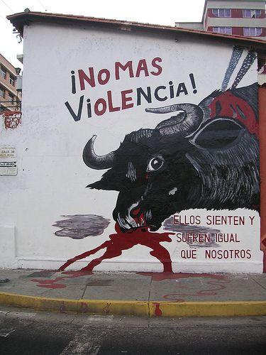 Catalonia bullfighting public art
