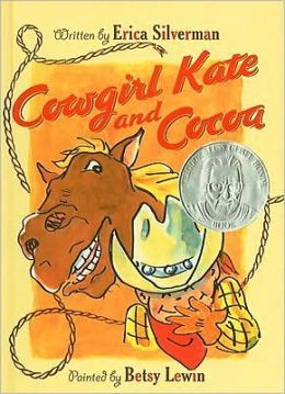 Cowgirl Kate And Cocoa by Erica Silverman. Cocoa is always hungry, likes to play, and basically acts like most kindergarteners - which is why we (and Cowgirl Kate) love him.