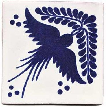 Paloma blue tile - love blue and white tile