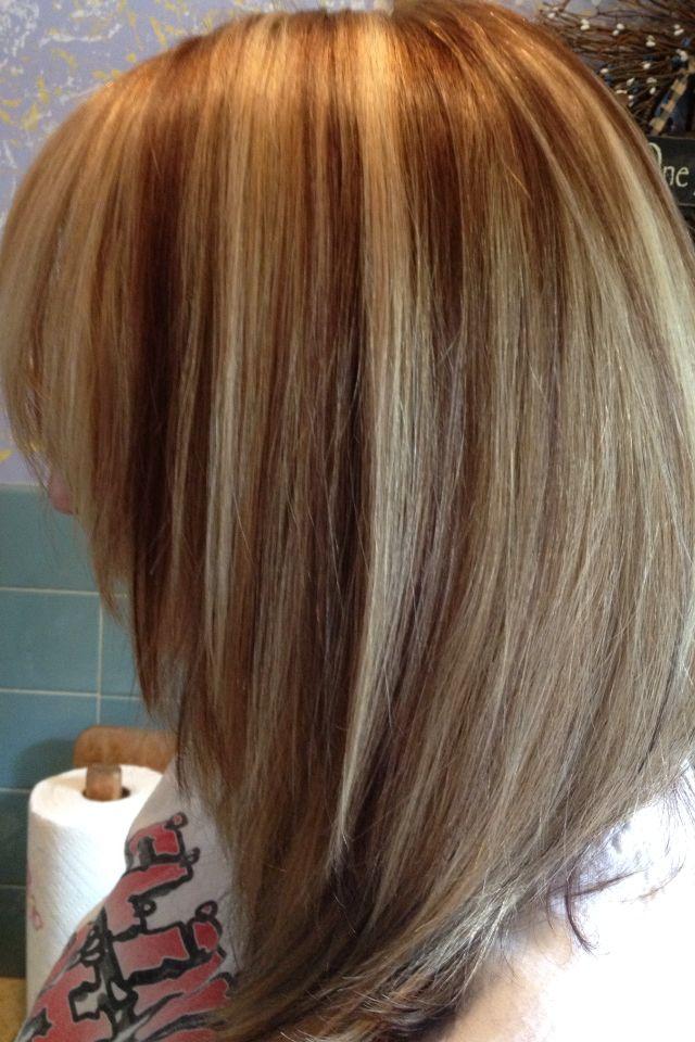 7 Best Partial Foil Lowlights Images On Pinterest Hair