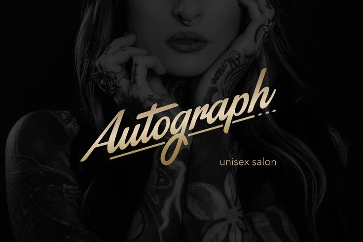 Autograph unisex salon on Behance