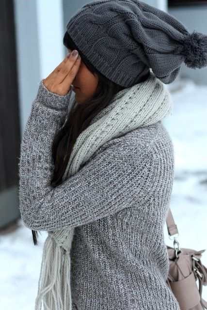 Perfect comfy winter outfit by evangeline