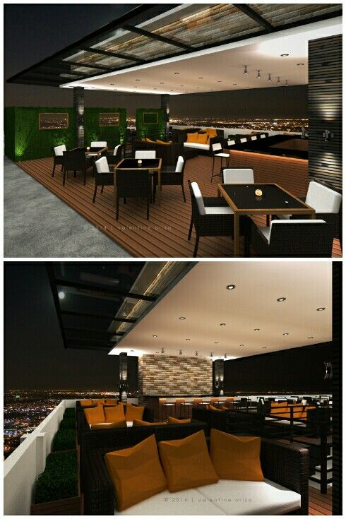 Rooftop Cafe Design by. VALENTINE ORIZA