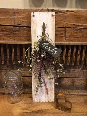 Best Farmhouse Wall Decor Rustic Cedar Shingle W Pretty Floral 400 x 300