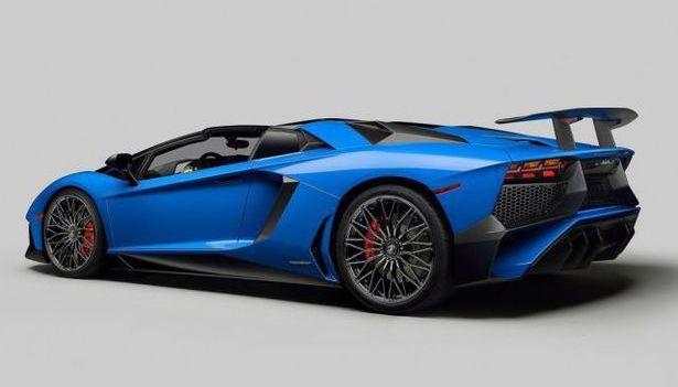 2017 Lamborghini Aventador - release date