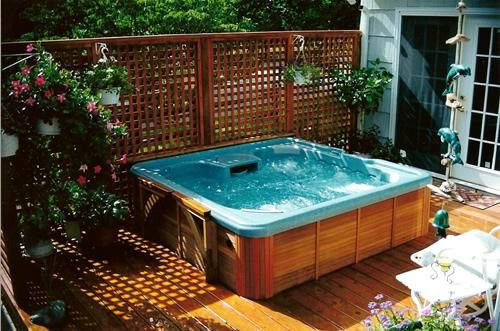 Best 25+ Hot Tub Privacy Ideas On Pinterest