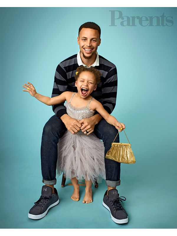 The NBA star and his cookbook author wife talk to Parents magazine about co-parenting their daughters in the spotlight...