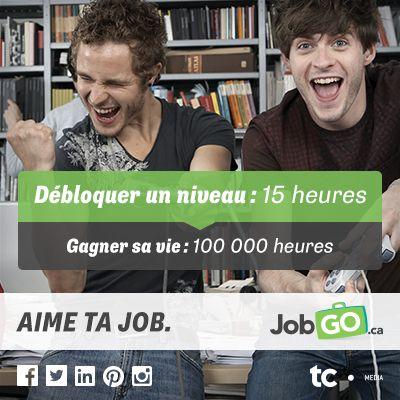 Débloquer un niveau: 15 heures VS Gagner sa vie: 100 000 heures! #aimetajob #job #emploi #gaming