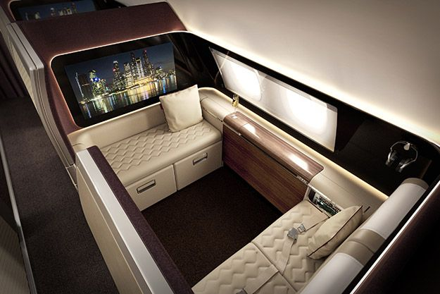 Travel 1st class on this!!! Singapore Airlines! Designed by DCA