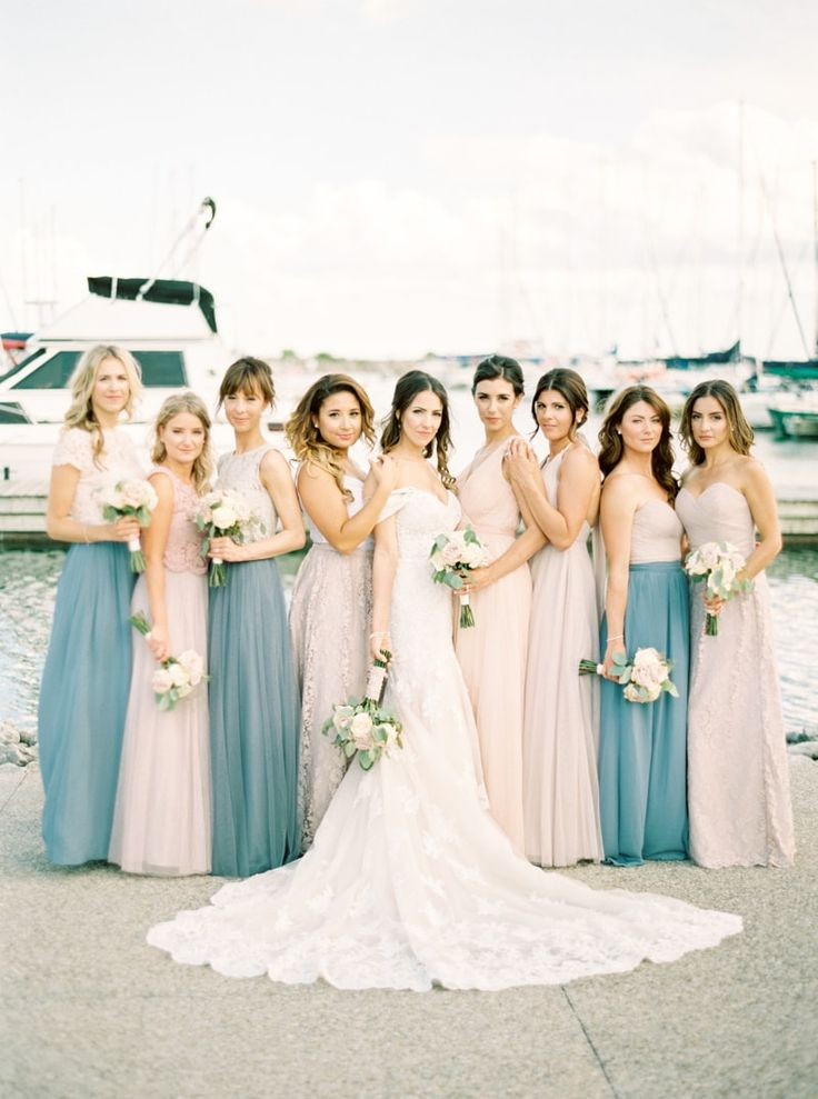 Best Bridesmaid Dresses Images On Pinterest Pink Bridesmaid