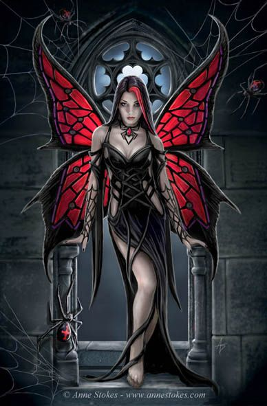 Can you tell I like this one even if it has spiders?  Anne Stokes : (www.annestokes.com)