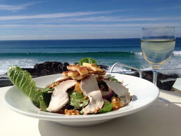 Currumbin Beach Vikings - Roast Pumpkin & Olive Salad with Chicken