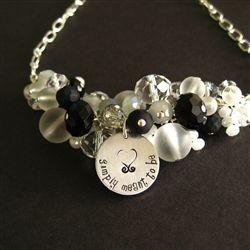 Nightmare before Christmas wedding necklace!