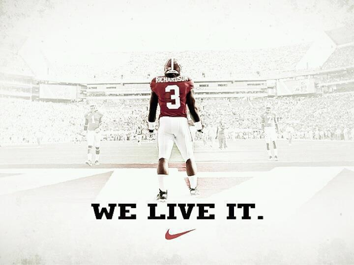 At Alabama, we live it