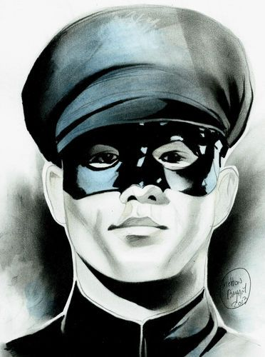 Green Hornet's Kato Bruce Lee Original Comic Art by Shelton Bryant | eBay