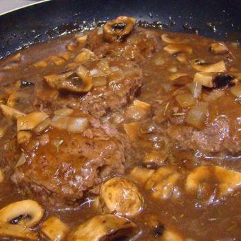 Weight Watcher Quick & Easy Salisbury Steak Recipe - ZipList