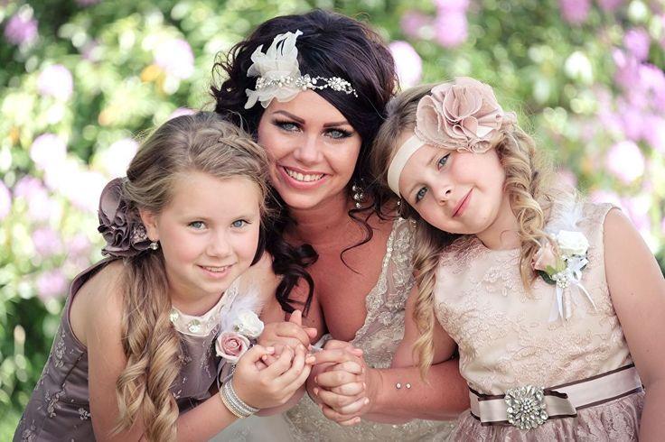 Bruismeisjes jurken kind, kinderbruidsmode, feestjurkje mooi en hip!