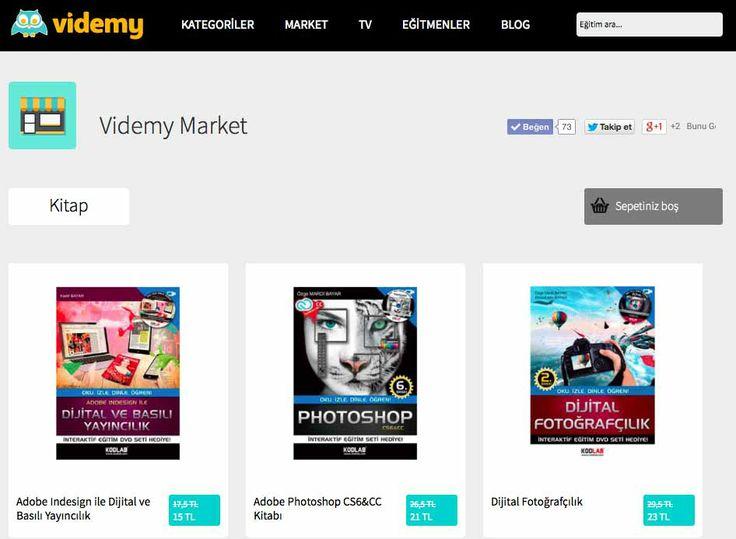 Kadir Bayar ile birlikte kaleme aldığımız Photoshop Kitabı, Dijital ve Basılı Yayıncılık ve Dijital Fotoğrafçılık kitapları videmy market bölümünde sizleri bekliyor.