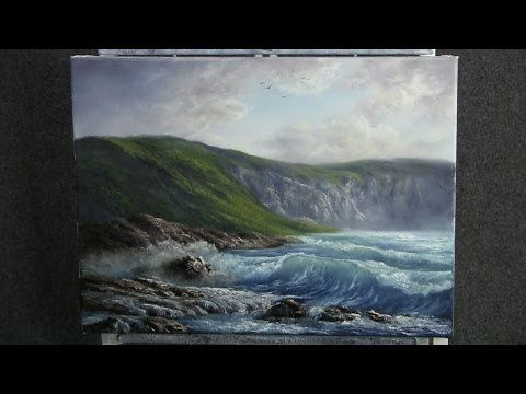 Paint with Kevin Hill - Morning Wave - YouTube