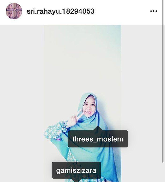 Cantikknya Kak @sri.rahayu.18294053 wearing syari series from @gamiszizara  keep your beauty and syari with @gamiszizara