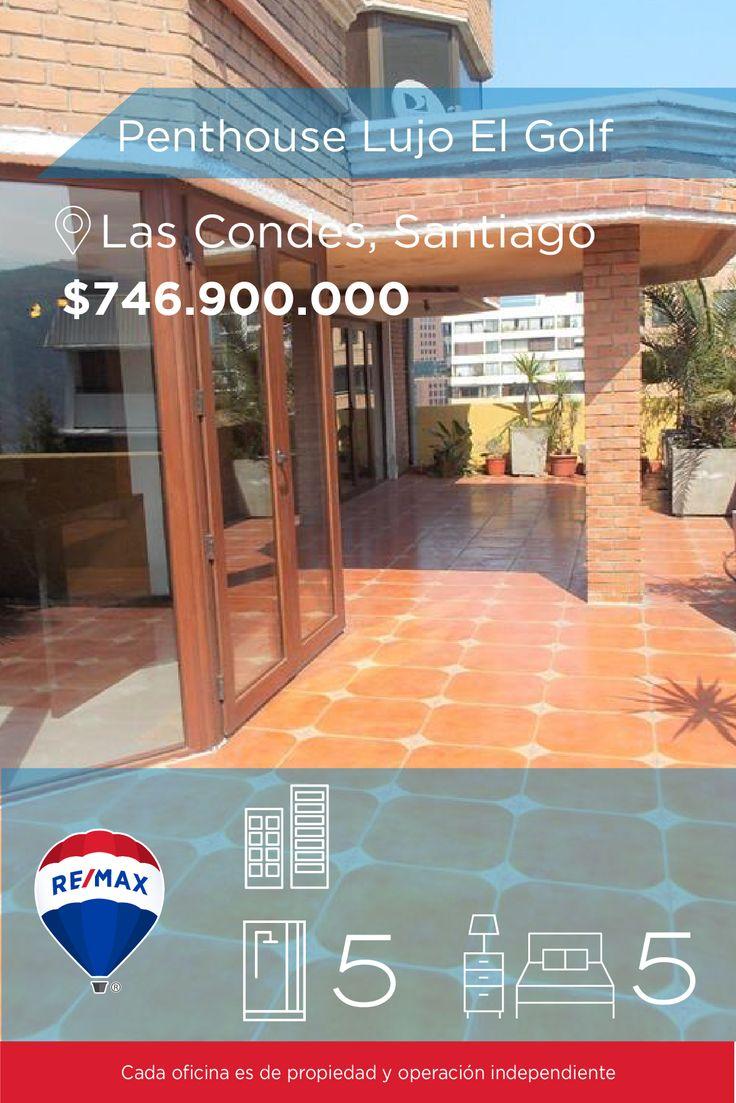 [#Departamento en #Venta] - #Penthouse Lujo El Golf 🛏: 5 🚿: 5  👉🏼 http://www.remax.cl/1028046013-6 #propiedades #inmuebles #bienesraices #inmobiliaria #agenteinmobiliario #exclusividad #asesores #construcción #vivienda #realestate #invertir #REMAX #Broker #inversionistas #arquitectos #venta #arriendo #casa #departamento #oficina #chile