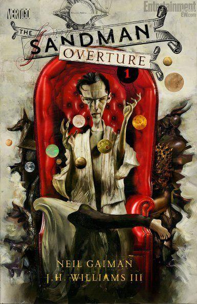 Neil Gaiman Sandman Overture #1 Cover by Dave McKean