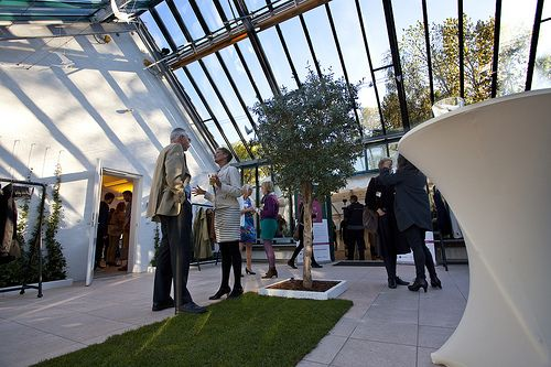 The Orangery at opening reception 2013.