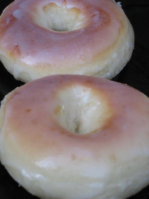 Donuts horneados ( con levadura de panaderia) ~ Pasteles de colores