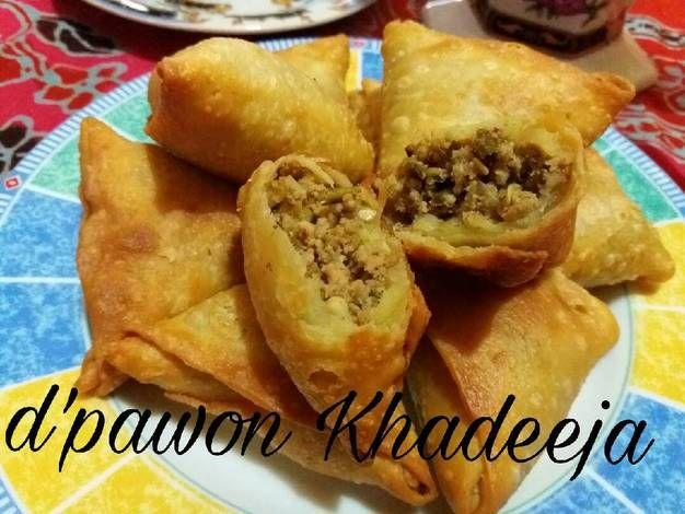 Resep Samosa Oleh Hilda Dawood Resep Makanan Makanan Dan Minuman Samosa