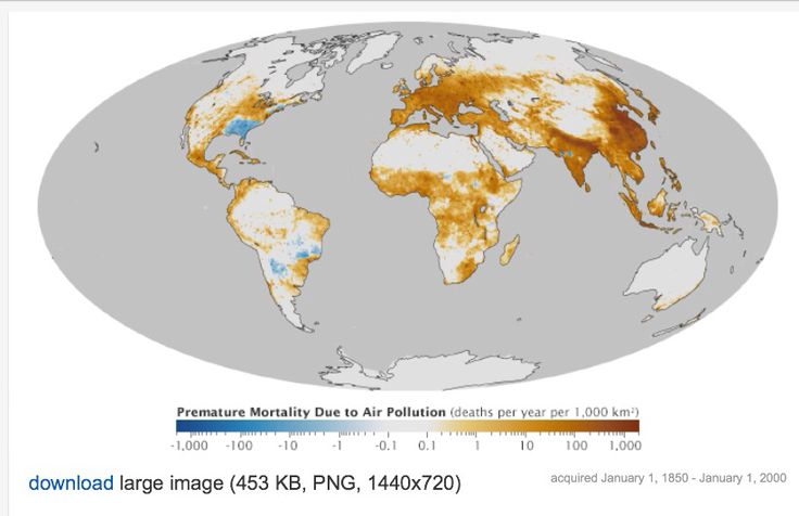 The Global Toll of Fine Particulate Matter : Image of the Day : NASA Earth Observatory