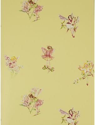 Jane Churchill Flower Fairies Wallpaper on shopstyle.com.au