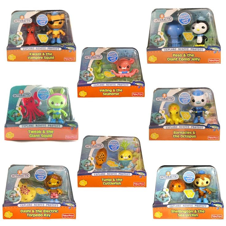 Amazon Com Octonauts Creature Pack Combo Complete Set